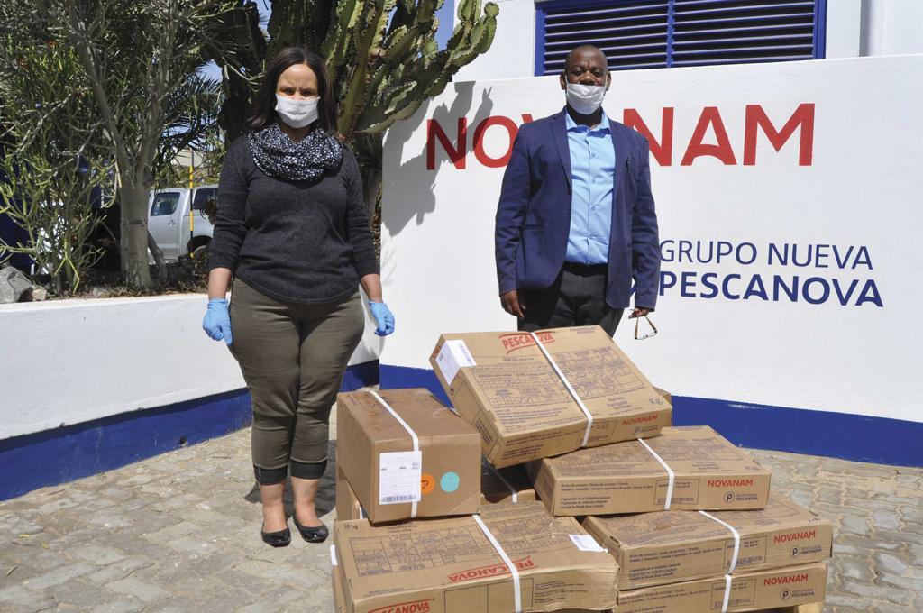 Donación Namibia